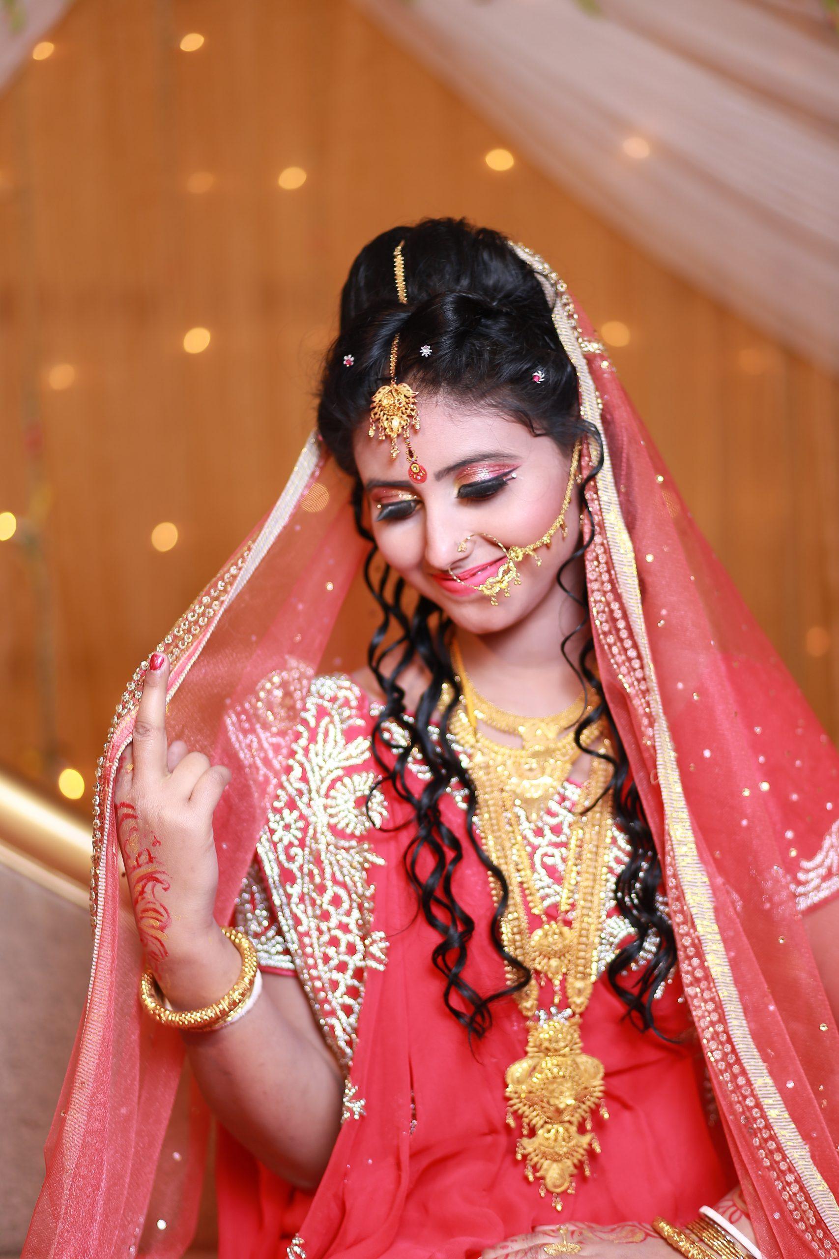 Indian-bride-red-dress
